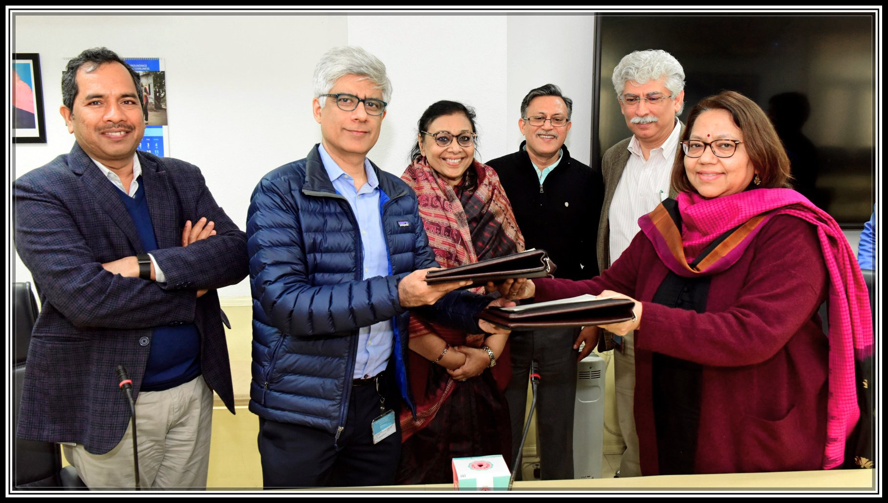 MoU signed between Ministry of Rural Development and Bill & Melinda Gates Foundation on 22nd January, 2020 by Smt. Alka Upadhyaya, Additional Secretary, MoRD and Shri Alkesh Wadwani, Director (Poverty Alleviation), BMGF in presence of Shri Rajesh Bhushan, Secretary Rural Development.