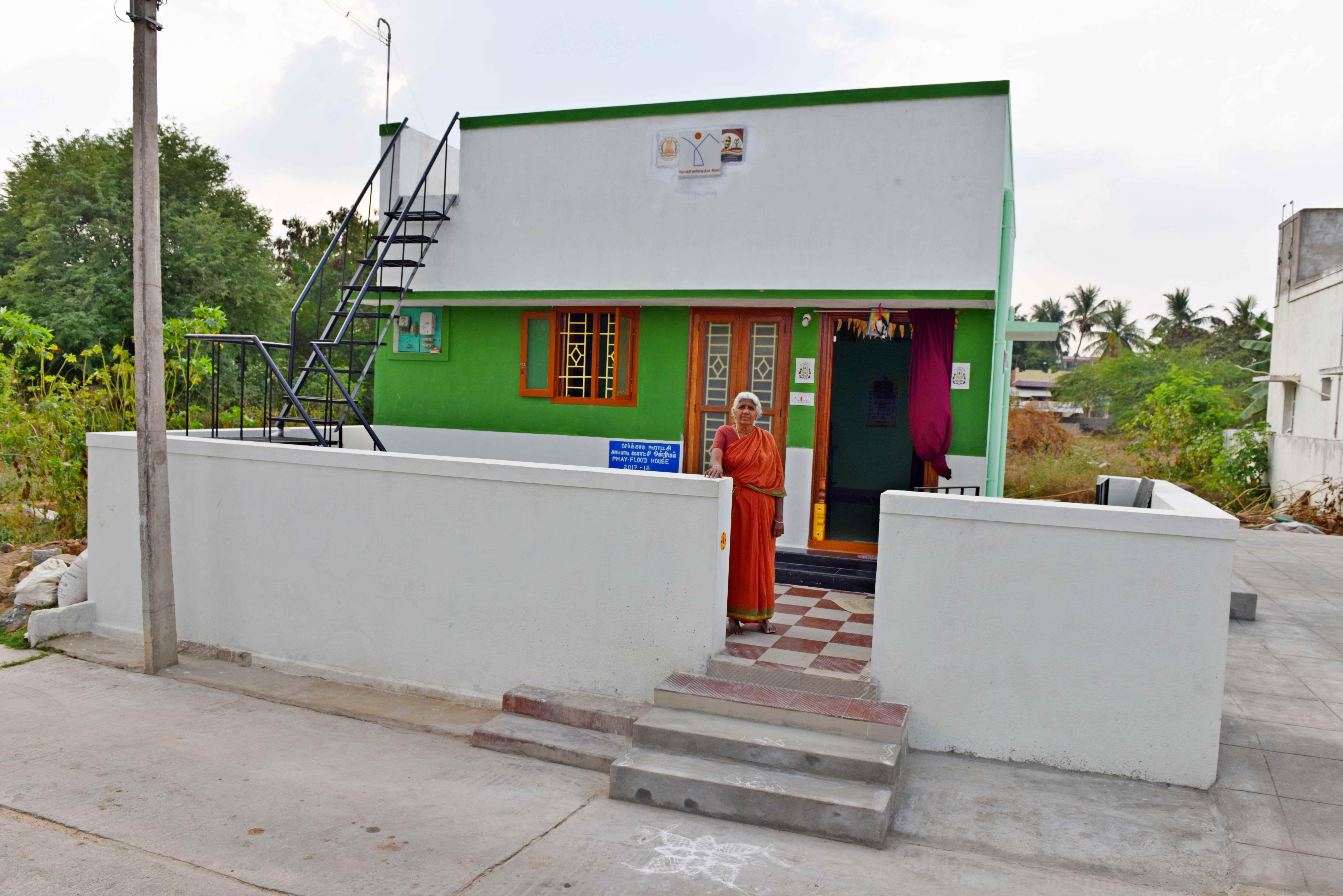 PMAY-G House-(Smt. Parwati-2017-18-G.P.-Serkadu, Block-Katpadi, Dist. Vellore, Tamilnadu