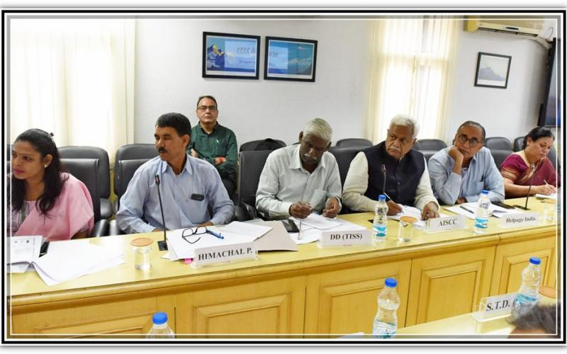 3rd meeting of the National Social Assistance Advisory Committee for NSAP under the Chairmanship of Hon'ble Minister of State, Sadhvi Niranjan Jyoti on 13th August,2019 at Ministry of Rural Development, Government of India.