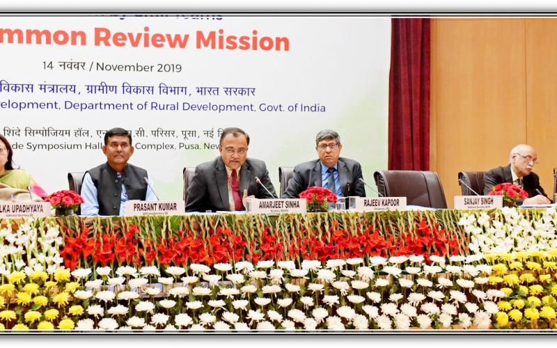 Common Review Mission Presentation by the Members on 14th November, 2019