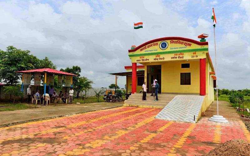 Construction of Panchayat Bhawan(MGNREGA & Stamp Shulk 2019-20) Vill- Nipaniya Sukha, Block.- Phanda,Distt.Bhopal ,Madhya Pradesh