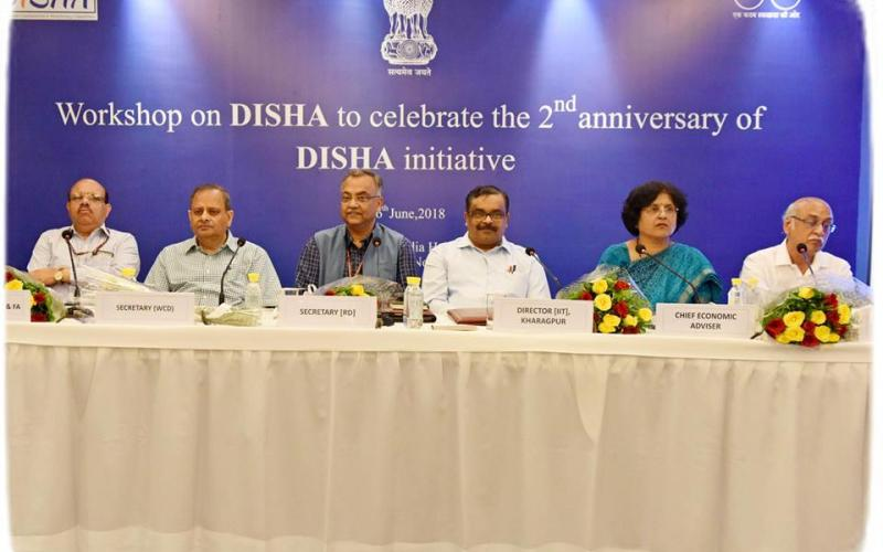 Workshop on DISHA to celebrate the 2nd anniversary of DISHA initiative on 26th June, 2018.
