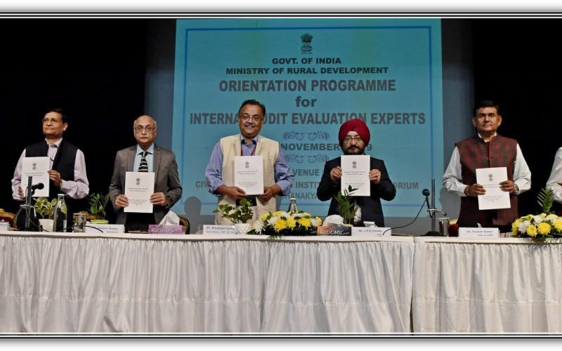 "Secretary, MoRD, Shri Amarjeet Sinha inaugurates ""Orientation Programme for Internal Audit Evaluation Experts"" on 15th November, 2019"