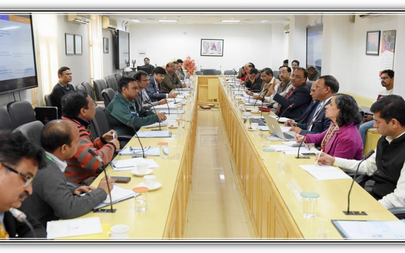 A Meeting of National Level Committee headed by Secretary, Rural Development, Shri Amarjeet Sinha on 9th December, 2019.