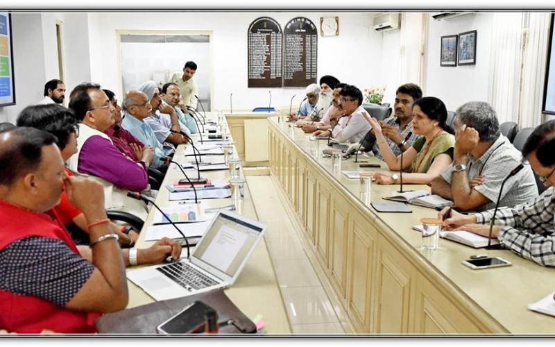 Meeting on Centre for Rural Development Informatics (CRDI) & 3 years IT Proposal on 17th September, 2019 at Ministry of Rural Development, Government of India.