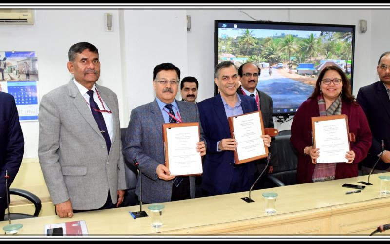 Signing of Agreement with NABARD and NRIDA on 20th January, 2020.