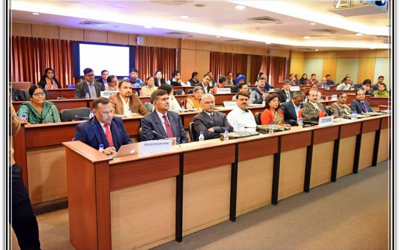 "The orientation programme of ""4th Common Review Mission"" on 15th December, 2018"