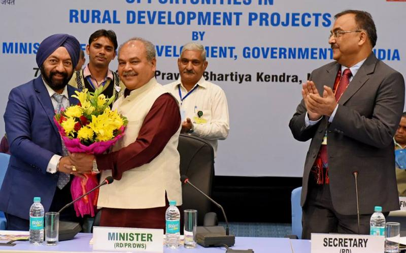 Seminar on Corporate Social Responsibility Opportunities in Rural Development. Keynotes address by Hon'ble Minister of Rural Development Shri Narendra Singh Tomar held at Pravasi Bhartya Kendra, Chanakya Puri, New Delhi on 7th December,2016.