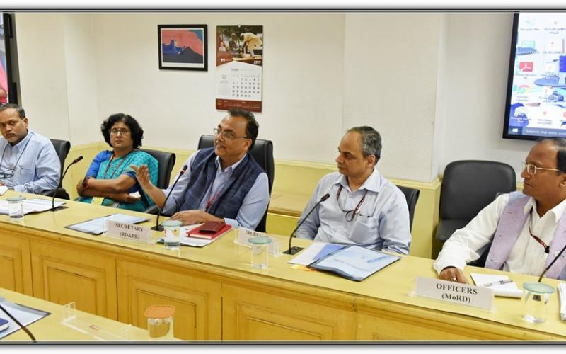 Updation on Social Economy & Cast Census ( SECC) on 4th October,2019 at Ministry of Rural Development, Government of India.