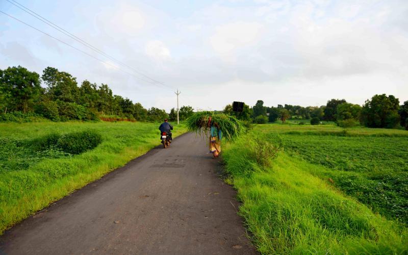 PMGSY -(2014-15) ,Vill-Bajrangpura, Block.- Depalpur,Distt.-Indore ,Madhya Pradesh