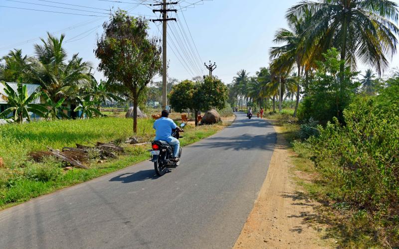 PMGSY Road-2015-16,Vill.-Oddapatty,Block-P.N.Palayam, Distt- Salem, Tamilnadu