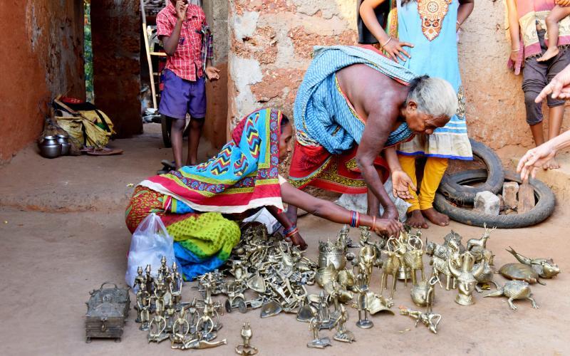 Brass Hastshilp-(OLM, NRLM)-  Vill-Sadeibereni, Block-Dhenkanal Sadar, Dist.Dhenkanal, Odisha