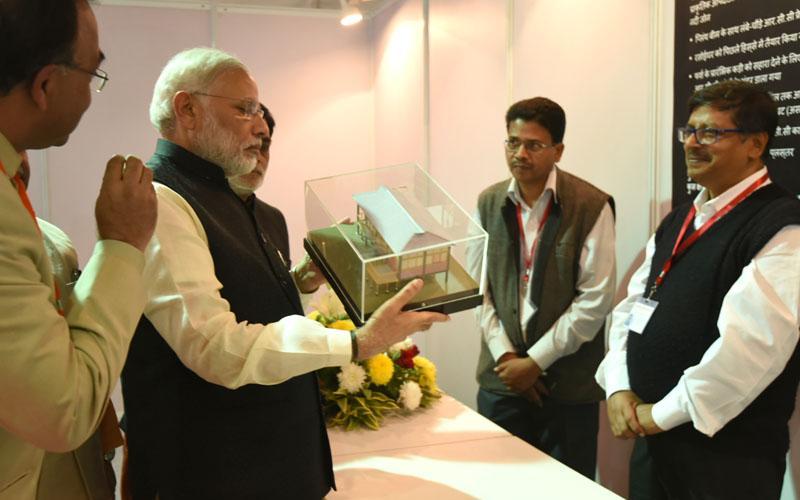 Launch of Pradhan Mantri Awaas Yojna - Gramin by Hon'ble Prime Minister, Shri Narendra Modi.