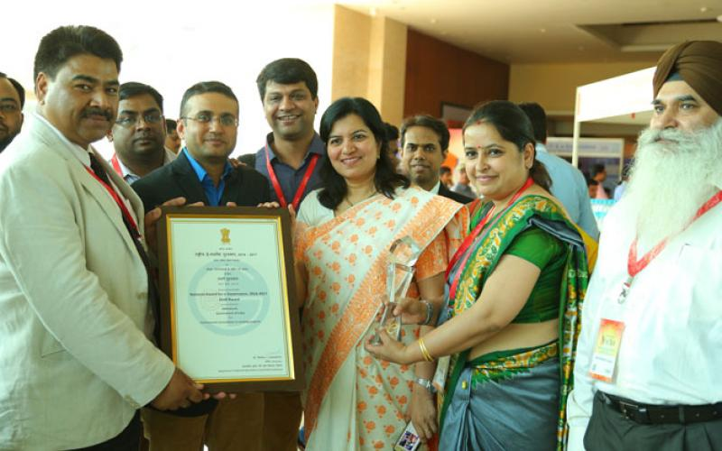 NREGASoft MIS Software System of Ministry of Rural Development,Govt. of India has been awarded with the  prestigious GOLD Award for Incremental Innovations in Existing Projects Category in 20th National  Conference on e-Governance at Visakhapatnam