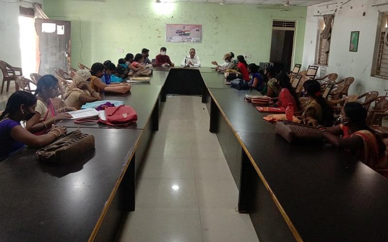 CLF Mahatma Gandhi NREGA Drive Chhattisgarh Mungeli