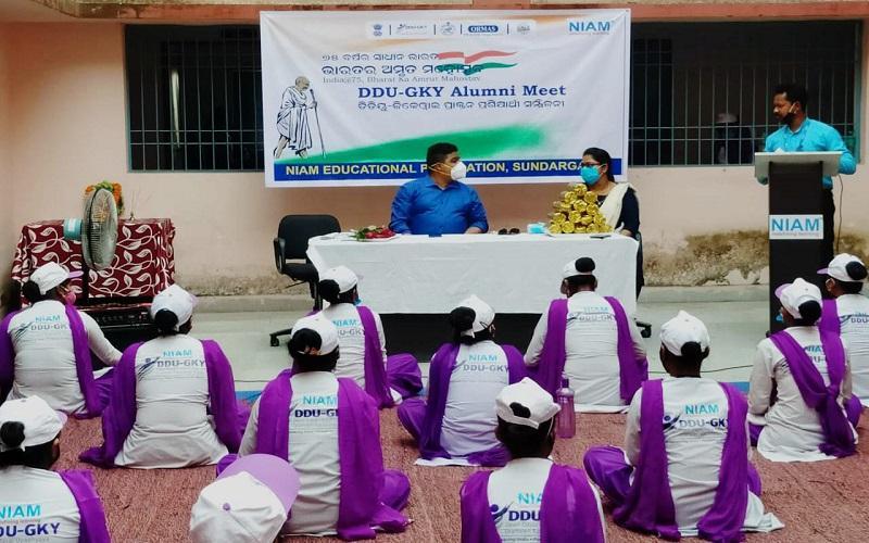 DDU-GKY Alumni Meet - Odisha