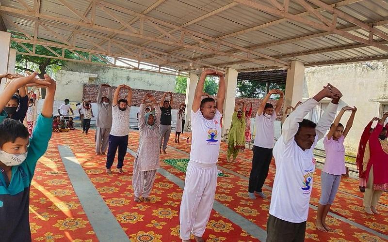 International Yoga Day Haryana