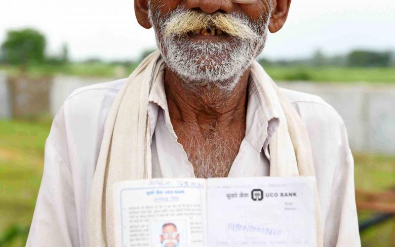 NSAP-(Sh.Kashi Ram)  Vill- Nipaniya Sukha, Block.- Phanda,Distt.-Bhopal ,Madhya Pradesh