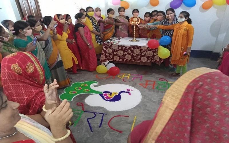 Inauguration of Community Managed Training Centers